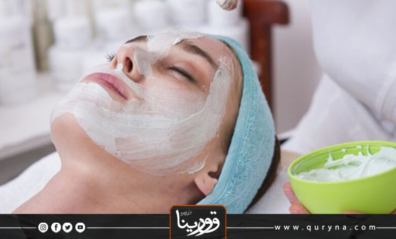 Photo of ماسك الحمص واللبن للبشرة الدهنية