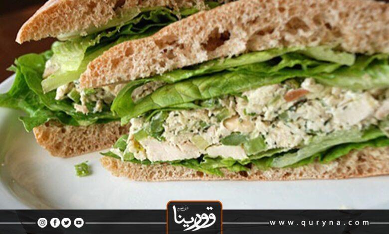 Photo of ساندويش الدجاج الصحي للرجيم