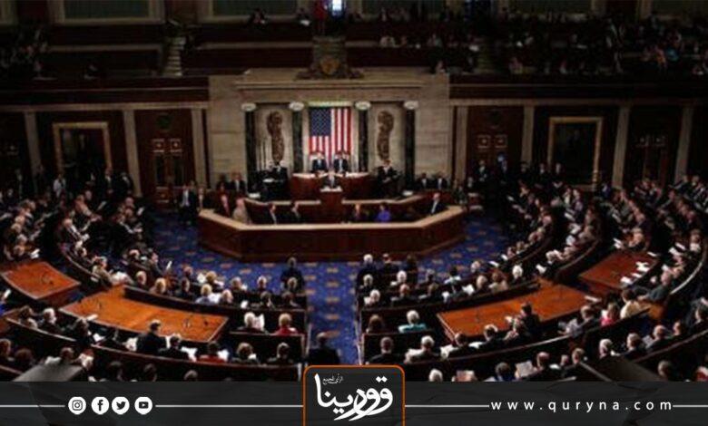 Photo of إخلاء مقر الكونغرس الأمريكي عقب أعمال شغب