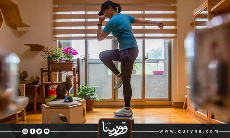 Photo of بالفيديو-  25 دقيقة من تمارين رقص التانجو بالمنزل