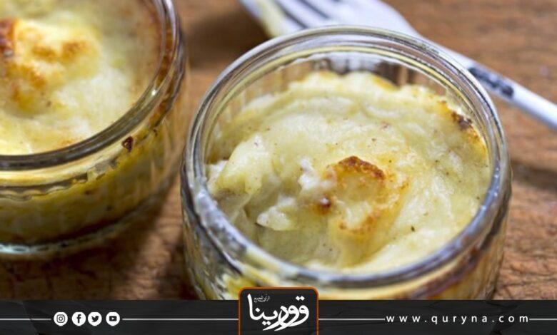 Photo of سوفليه البطاطس لغداء متكامل و مفيد