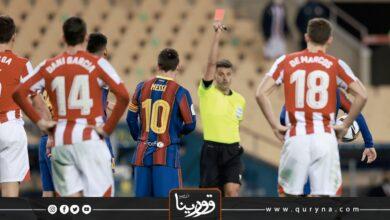 Photo of بطاقة حمراء تهز عرش ميسي مع برشلونة