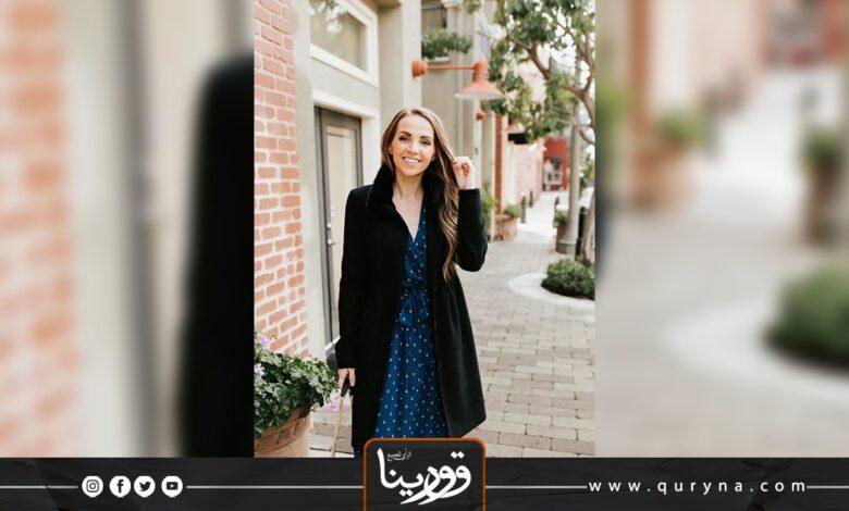 Photo of بالفيديو- تعلمي كيف ترتدين الفساتين بالشتاء
