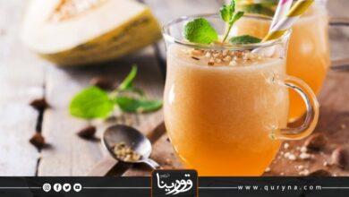 Photo of سموذي الشمام باللوز