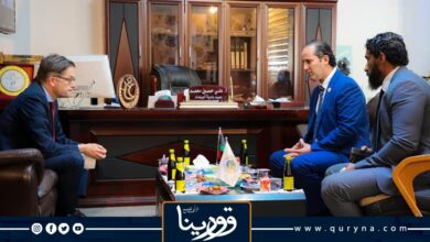 Photo of رئيس المجلس التسييري البيضاء وسفير ألمانيا يناقشان قرار توحيد المؤسسات