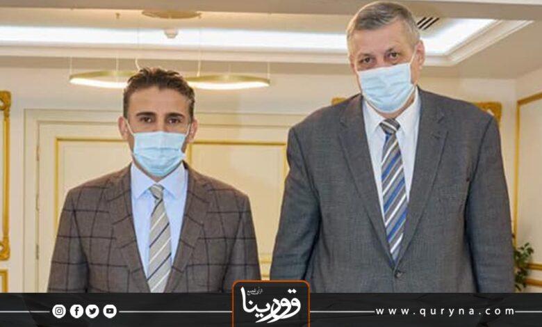 Photo of خلال استقبال المبعوث الأممى.. النمروش يطالب بإجراء انتخابات برلمانية فقط