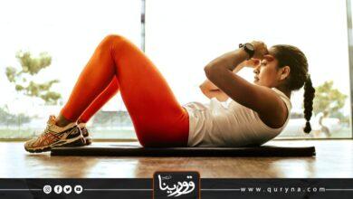 Photo of بالفيديو- 10 دقائق من التمرين للمبتدئين