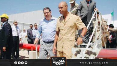 """Photo of مشاريع دشنت برعاية د.سيف الإسلام القذافي لخدمة ليبيا_ """"محطة الجبل الغربي"""""""