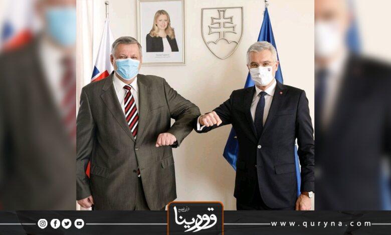 Photo of كوبيش يلتقي كوركوك لبحث الأزمة الليبية