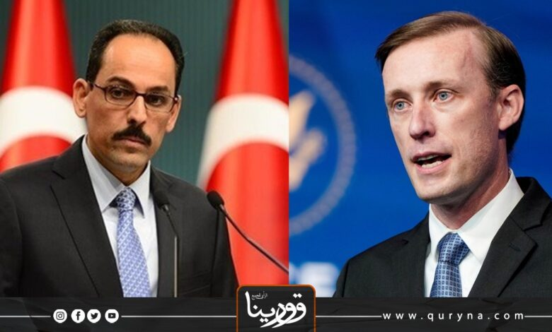 Photo of مباحثات أمريكية تركية حول ليبيا