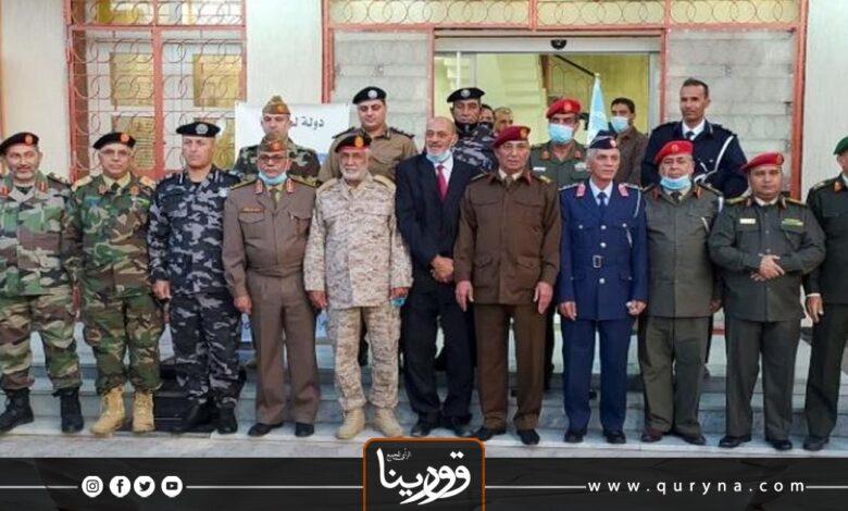 Photo of غدًا_ اجتماع مرتقب للجنة العسكرية المشتركة بسرت