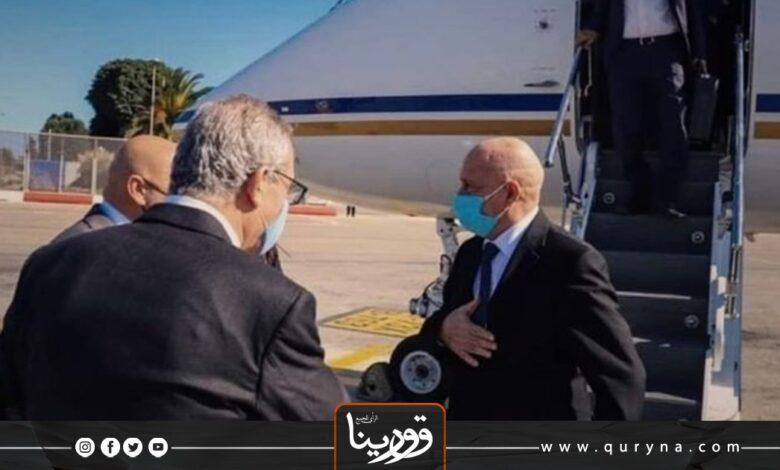 Photo of بدعوة برلمانية _ صالح يصل القاهرة