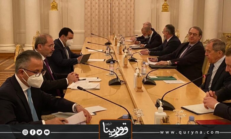 Photo of مباحثات روسية أردنية حول ليبيا