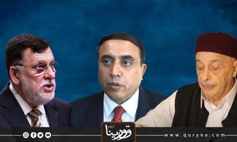 Photo of السراج وعقيلة والوافي يباركون تشكيل سلطة تنفيذيه جديدة