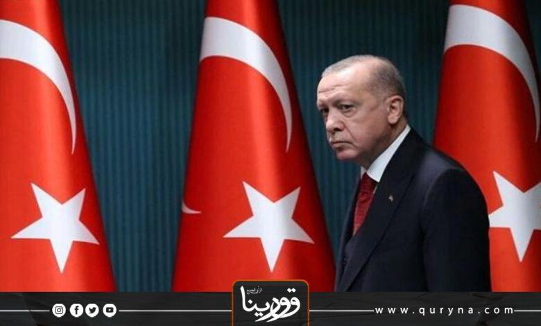 Photo of أردوغان يهنئ المنفي وأدبيبة