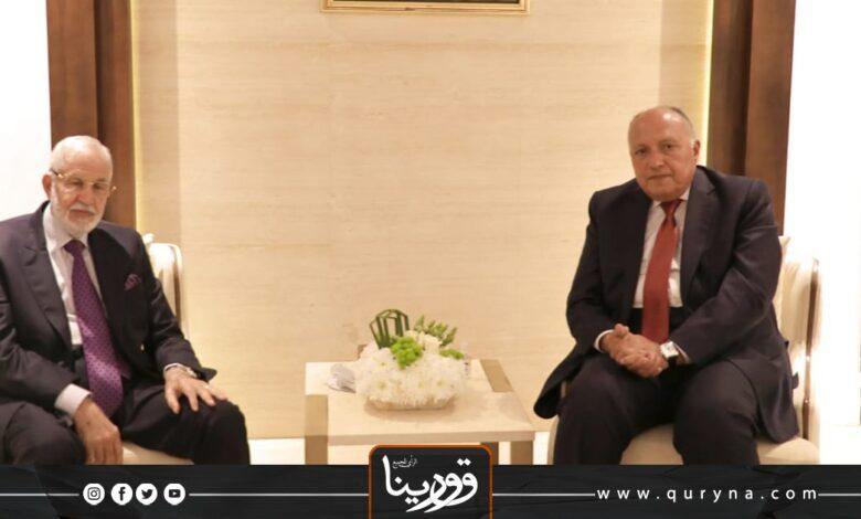 Photo of شكري يجدد لسيالة تمسك مصر بوجود حل سياسي في ليبيا