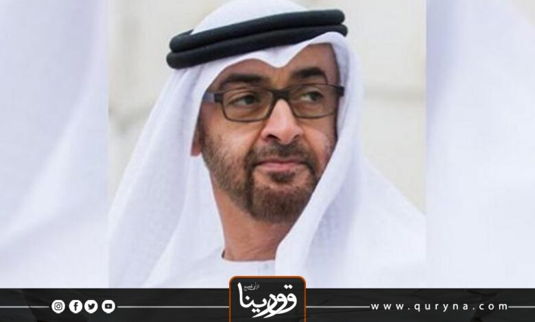 Photo of بن زايد يؤكد للمنفي دعم بلاده للحل السياسي في ليبيا
