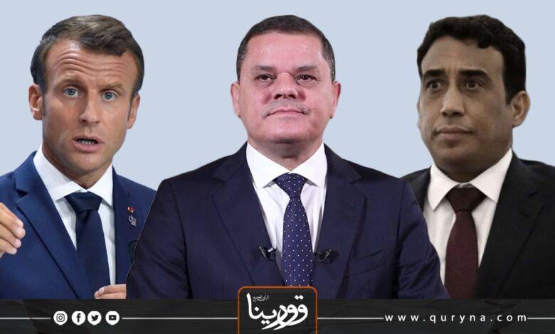 Photo of المنفي وادبيبة يبحثان تطورات الأوضاع الليبية مع ماكرون
