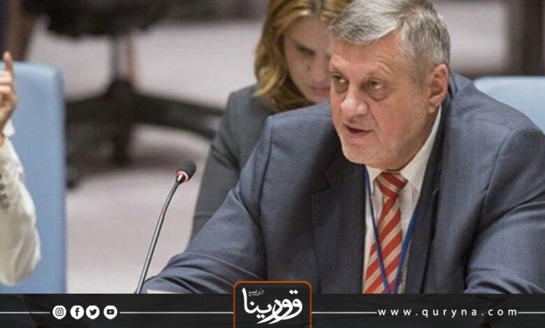 Photo of بعثة الأمم المتحدة تبرز جهود كوبيش خلال أسبوع من توليه رئاسة البعثة