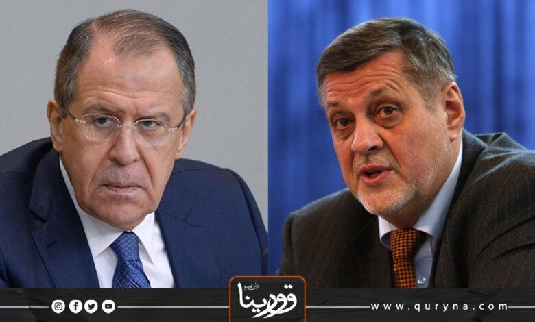"Photo of لافروف يؤكد لـ""كوبيش"" دعم روسيا لوجود تسوية سياسية للأزمة الليبية"