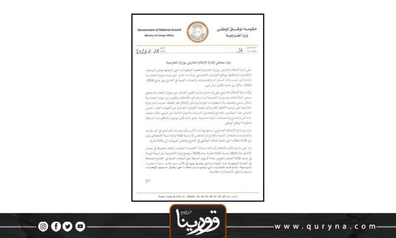 Photo of خارجية الوفاق تنافق نفسها تنفي زيادة المرتبات وتؤكدها