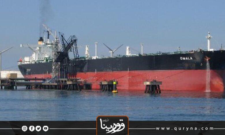 Photo of دخول أول ناقلة نفط لميناء الحريقة