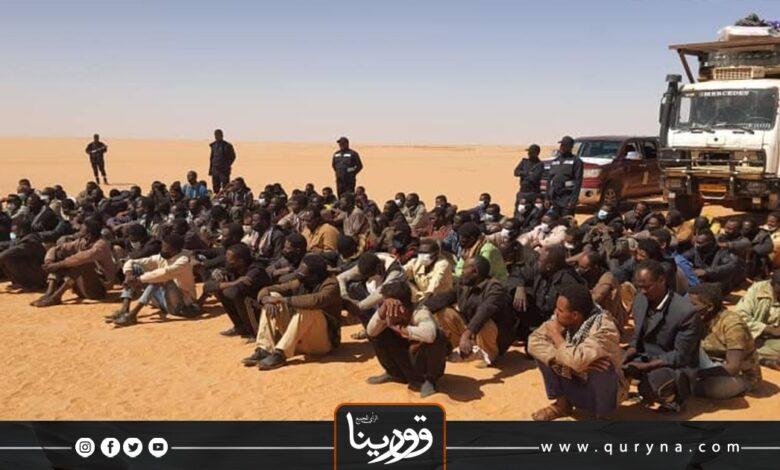 Photo of ترحيل 121 مهاجرًا غير شرعيًا إلى السودان