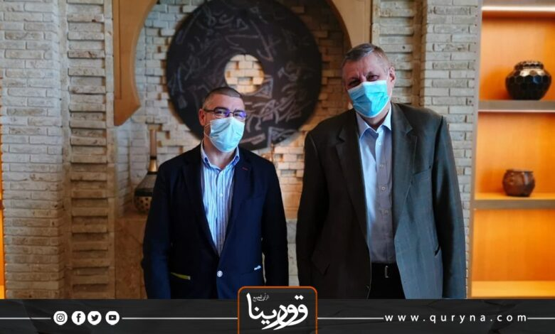 Photo of ساباديل وكوبيش يبحثان سبل دعم الحكومة الجديدة