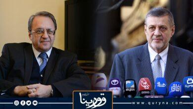 Photo of بوغدانوف يؤكد للمبعوث الأممى أهمية التسوية على أساس مبادئ وحدة ليبيا وسلامة أراضيها وسيادتها
