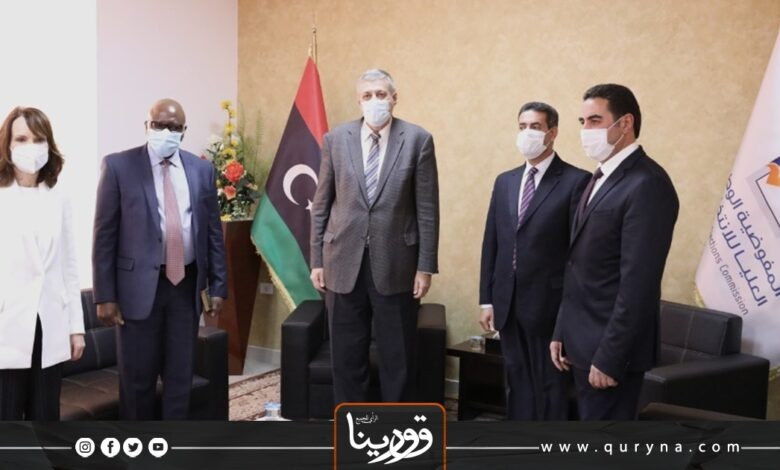 "Photo of المبعوث الخاص للأمين العام للأمم المتحدة يناقش الاستعداد للانتخابات مع ""السايح"""