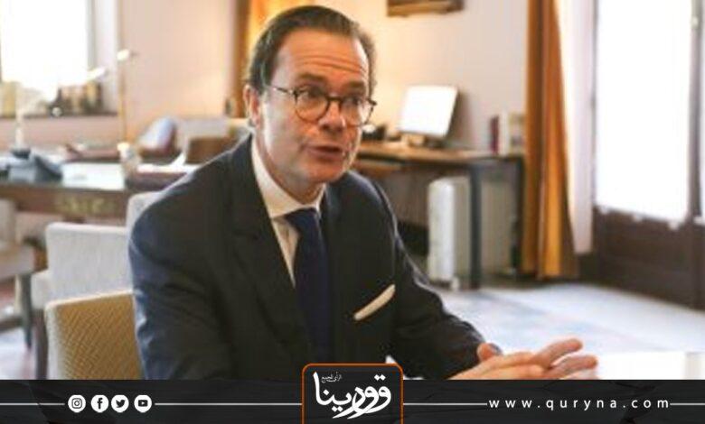 Photo of سفير فرنسا بالقاهرة: التنظيم الجيد للانتخابات يضمن الاستقرار السياسي في ليبيا