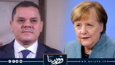 Photo of ميركل تؤكد لـ الدبيبة على أهمية إجراء الانتخابات في ديسمبر المقبل