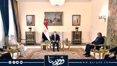 Photo of السيسي لـ وزيرة خارجية السودان: موقنا ثابت اتجاه سد النهضة