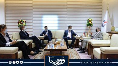 Photo of صنع الله وأوفتشا يبحثان الاستعدادت الجارية لعقد ملتقى الشركات الألمانية مع الوطنية للنفط