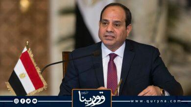 """Photo of السيسي محذرًا: """"مياه مصر خط أحمر ولن يستطيع أحد أخذ نقطة واحدة"""""""