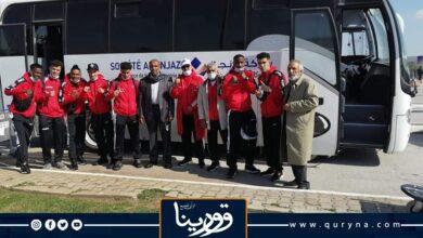Photo of وصول بعثة المنتخب الوطني للملاكمة إلى تونس