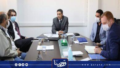Photo of السايح يبحث مع ممثلي البعثة مستجدات إصدار البطاقة الانتخابية