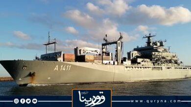 Photo of سفينة حربية ألمانية في مهمة قبالة السواحل الليبية
