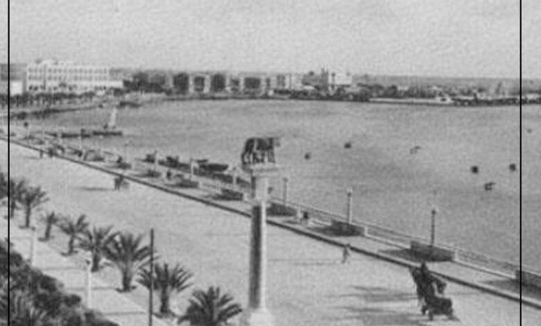 Photo of صور .. بنغازي بعدسة المصور الإيطالي ناسيسيا الكورنيش الكبترنيا