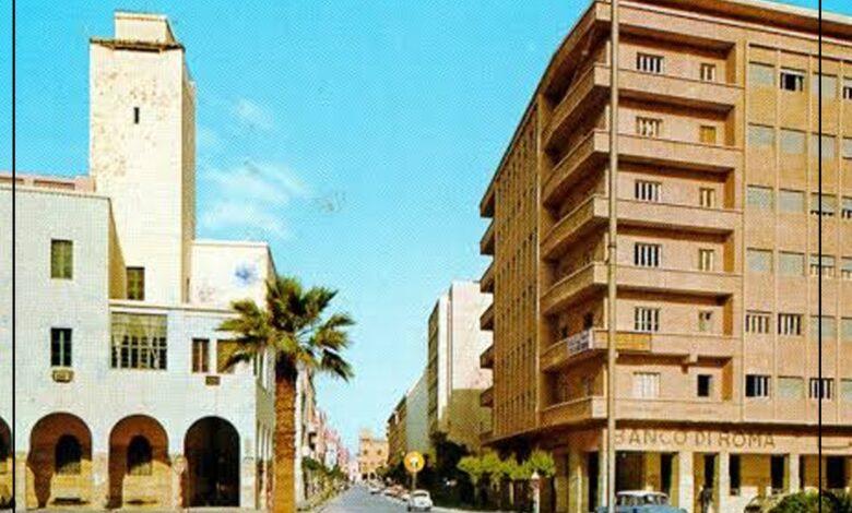Photo of صور قديمة : بنغازي شارع عمر المختار