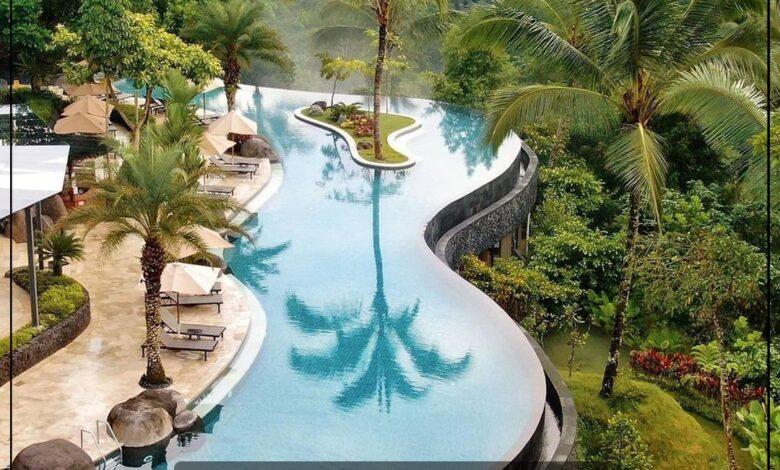 "Photo of ""قورينا"" اختارت لكم صور من فندق "" Padma Ubud "" في بالي بإندونيسيا حيث المساحات الخضراء المميزة والشاطيء الرائع"