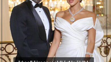 Photo of إطلالة ملكية للبلوجر ومدونة الموضة مرام زبيدة في حفل زفافها
