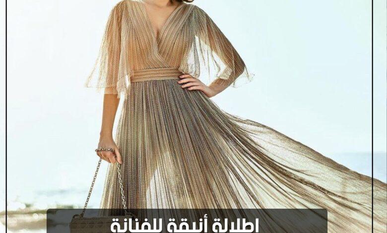 Photo of إطلالة أنيقة للفنانة سيرين عبد النور من مجموعة Dior