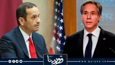Photo of خلال اتصال هاتفى.. وزير الخارجية الأمريكى يناقش تطورات الأوضاع فى ليبيا مع نظيره القطرى