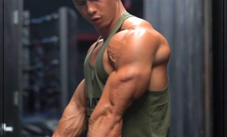 Photo of تمارين لتقوية عضلة الترايسبس والبينج والكتف