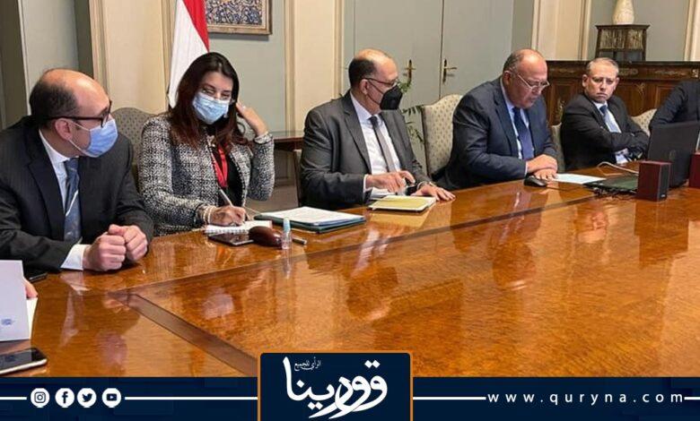 Photo of مباحثات مصرية مغربية حول مسار تسوية الأزمة الليبية ووقف التدخلات الأجنبية