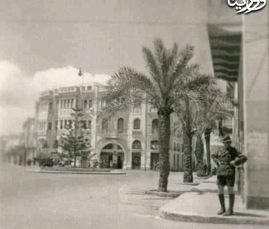 Photo of مدينة بنغازي 1941 ميدان الشجرة