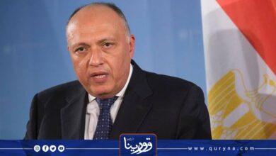 Photo of شكري : الملف الليبي يمثل قضية أمن قومي لمصر