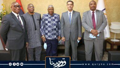 Photo of السايح يستقبل ممثلي سفارات أفريقية لبحث تحضيرات المفوضية للانتخابات القادمة