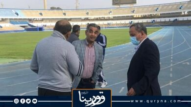 Photo of رئيس الاتحاد الليبى يتفقد أعمال صيانة وتطوير ملعب طرابلس الدولى